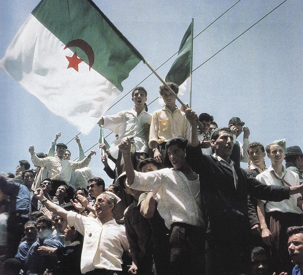 festeggiamenti del 5 luglio 1962 ad Algeri