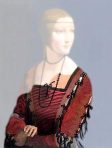 Simulazione grafica basata sulla tecnica  LAM della prima versione del dipinto - © BBC News
