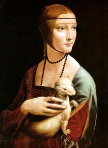 La dama con l'ermellino, Leonardo da Vinci  1488-1490