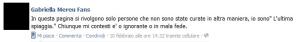screenshot del sito della dottoressa dal blog MedBunker