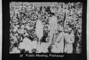 Ghandi a Peshawar