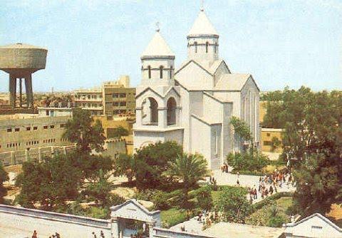 la chiesa armena di Baghdad