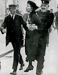 EmmelinePankhurst-arrestata