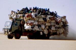 Camion deserto