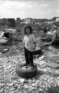 Julian, maggio '99, Casilino '700. Foto: Stefano Montesi.
