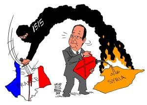 Isis-Hollande