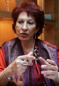 Fatema Mernissi. Fonte Enciclopedia delle donne