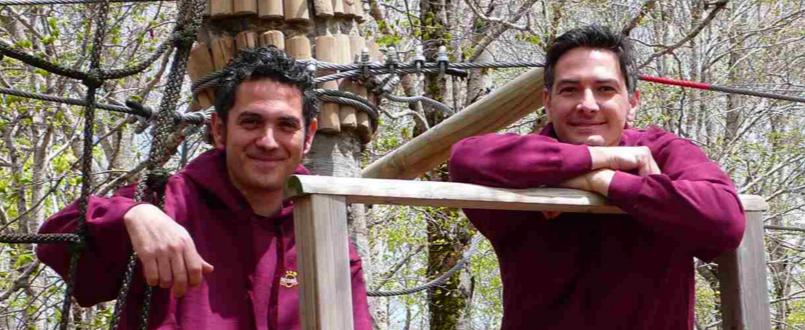 Giovanni Leonardi e Massimiliano Capalbo - Cortesia Orme nel Parco