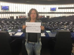 Io sto con chi resiste - Strasburgo.