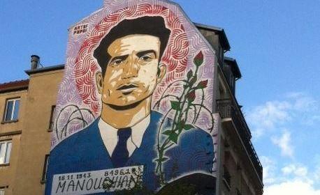 Murale omagio a Missak Manouchian